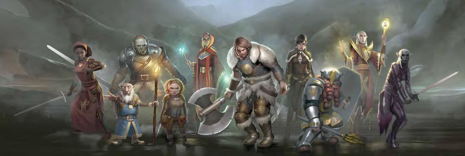 Connors Campaigns: D&D Races